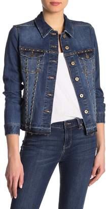 Liverpool Jeans Co Studded Jean Jacket