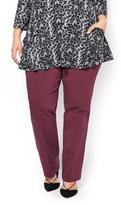 Penningtons ONLINE ONLY - Tall Savvy Straight Leg Twill Pant