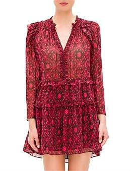 Ulla Johnson Esha Dress Diamond Print