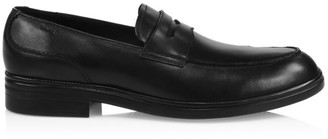 Bally Neffer Leather Penny Loafers