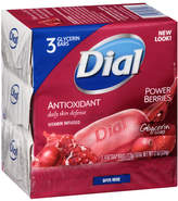 Dial Glycerin Bar Soap Cranberry & Anti-Oxident