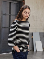 Boatneck Stripe T-shirt