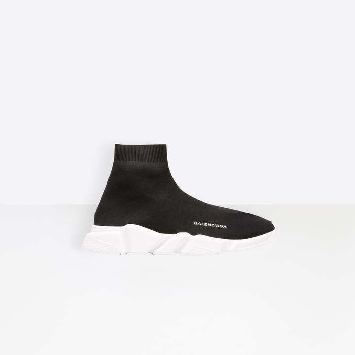 Balenciaga Trainer with white textured sole