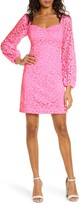 Lilly Pulitzer R) Juliah Long Sleeve Lace Dress