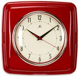 Glenna Jean Lil Sailboat Retro Diner Wall Clock in Red