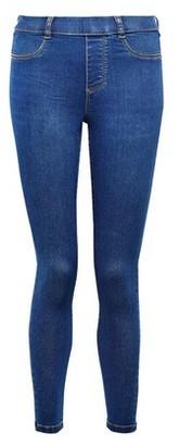Dorothy Perkins Womens Petite Rich Blue Organic Denim Premium 'Eden' Jeans, Blue