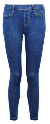 Dorothy Perkins Womens Dp Petite Rich Blue 'Eden' Denim Premium Jeans With Organic Cotton, Blue