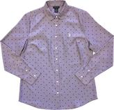 U.S. Polo Assn. Women's Polka Dot Button Down Shirt
