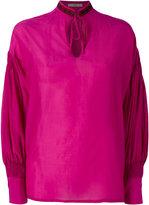 Etro peep-hole blouse - women - Silk/Cotton/Viscose - 40