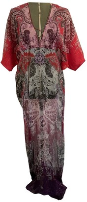 Roberto Cavalli Red Silk Dresses