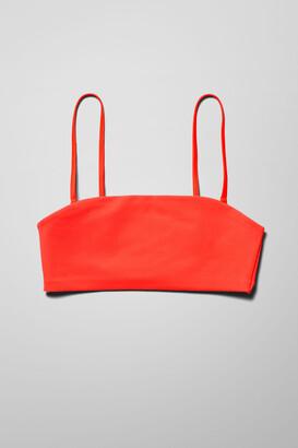 Weekday Pearl Swim Top - Black
