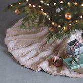 Faux Fur Tree Skirt - Blush