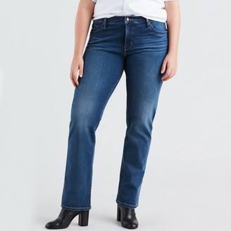 Levi's 314 Plus Shaping Straight Cut Jeans