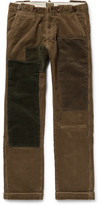 Levi's 1920s Patchwork Cotton-Corduroy Trousers