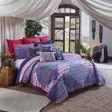 Blissliving Home Kambiya King Quilt Set in Blue