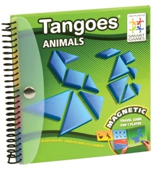 Smart Toys And Games Tangoes Animals - Magnetic Travel Game