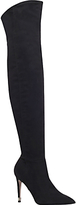 Miss KG Willow Over the Knee Boots, Black Suede
