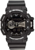 G-Shock Duo Rotary, Blk/Silver, Resin