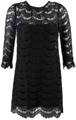 Milly \N Black Cotton Dresses