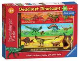 Ravensburger Deadliest Dinosaurs 60 Piece Giant Floor Puzzle