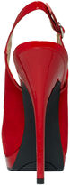 GUESS Women's Shoes, Glenisa Peep Toe Platform Slingback Pumps