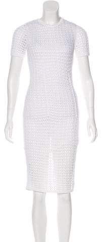 Alexander Wang Open Knit Midi Dress w/ Tags