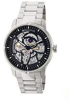 Heritor Ryder Skeleton Dial Stainless Steel Automatic Men's Watch HR4608