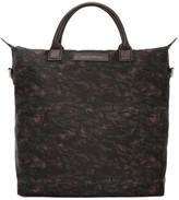 WANT Les Essentiels Brown Camo Ohare Shopper Tote