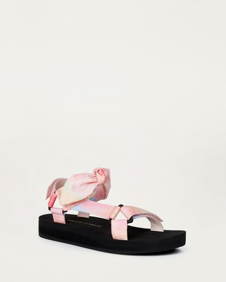 Loeffler Randall Maisie Sporty Sandal Tie Dye