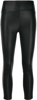 Sprwmn Side Stripe Capri Leggings