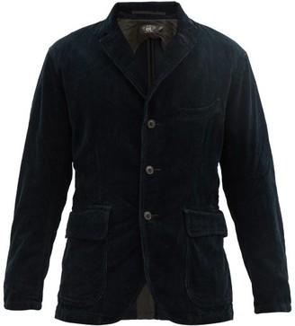 Ralph Lauren RRL Single-breasted Cotton-corduroy Blazer - Blue
