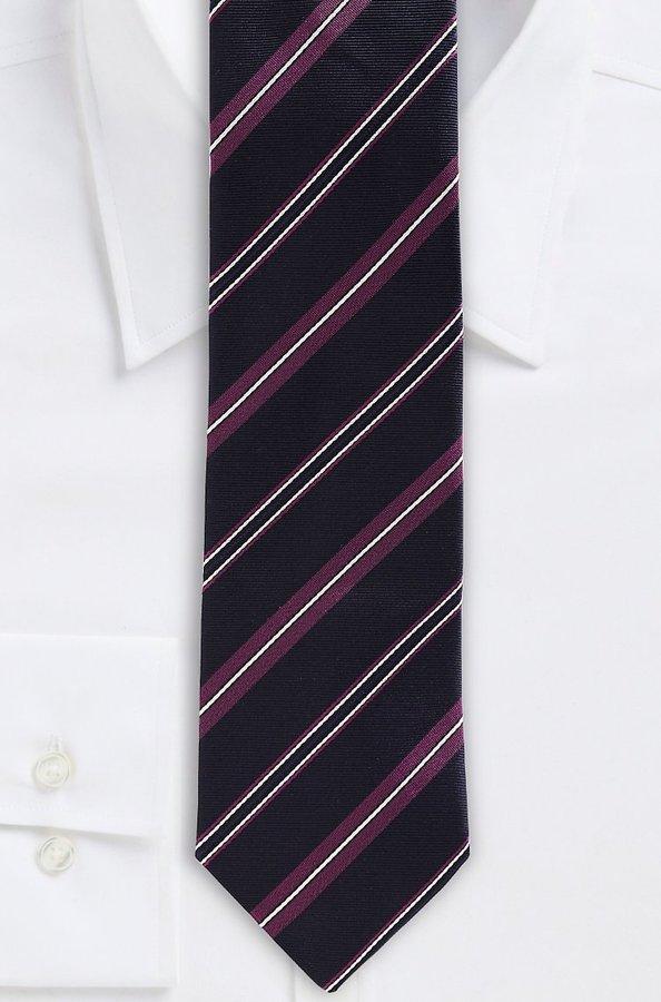 HUGO BOSS '7.5 cm Tie' | Regular, Silk Diagonal Stripe by BOSS
