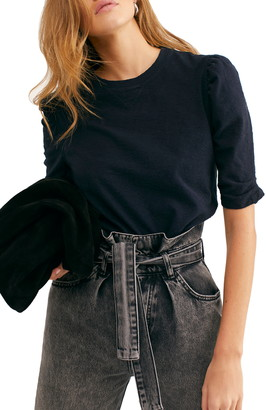 Free People Just a Puff Sleeve T-Shirt