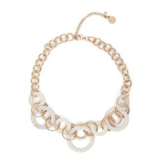 Dana Buchman Raffia Ring Collar Necklace
