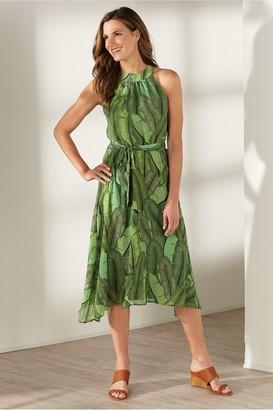 Soft Surroundings Royal Palms Dress