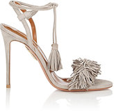 Aquazzura Women's Wild Thing Sandals-LIGHT GREY