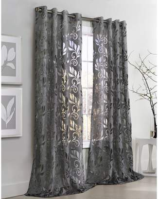 Commonwealth Home Fashions Amelia Burnout Curtain Panel
