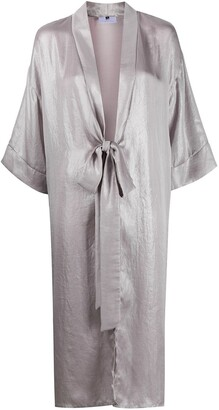 Alchemy Metallic Duster Coat