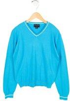 Oscar de la Renta Boys' V-Neck Sweater