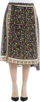 N°21 Floral Silk Skirt