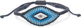 Diane Kordas Evil Eye Woven, Diamond And Sapphire Bracelet - Blue