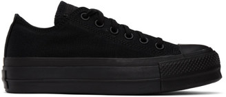 Converse Black Monochrome Chuck Lift Sneakers