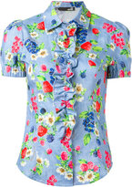 Love Moschino floral print shirt