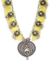 Cara Al Medallion Necklace