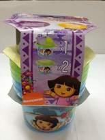Dora the Explorer 3-Piece Set Snack N Store Food Storage Container