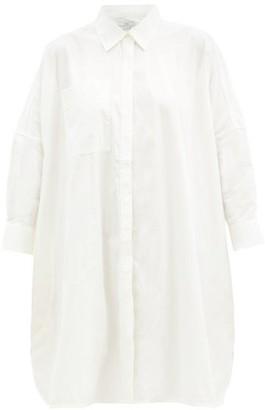 Co Oversized Cotton-blend Shirt - White