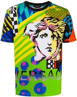 Versace Pop Temple print T-shirt