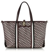 Pierre Hardy Women's Burgundy Cotton Tote.