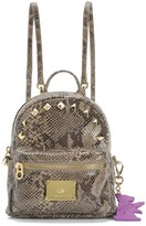 Juicy Couture Solstice Snake Leather Mini Backpack