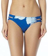 Carmen Marc Valvo Gilded Garden Strappy Bikini Bottom